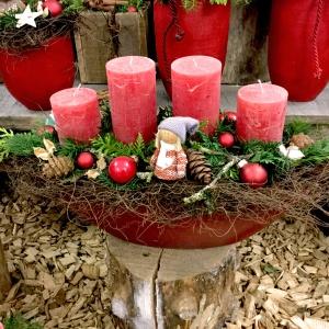 Weihnachtsfloristik