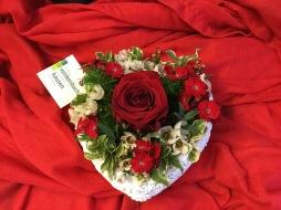 Valentinstagsgesteck