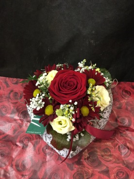 Valentinstag Gesteck