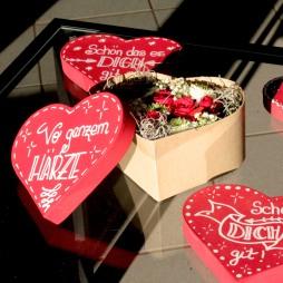 Blumen in der Box Preis 25.- Fr.