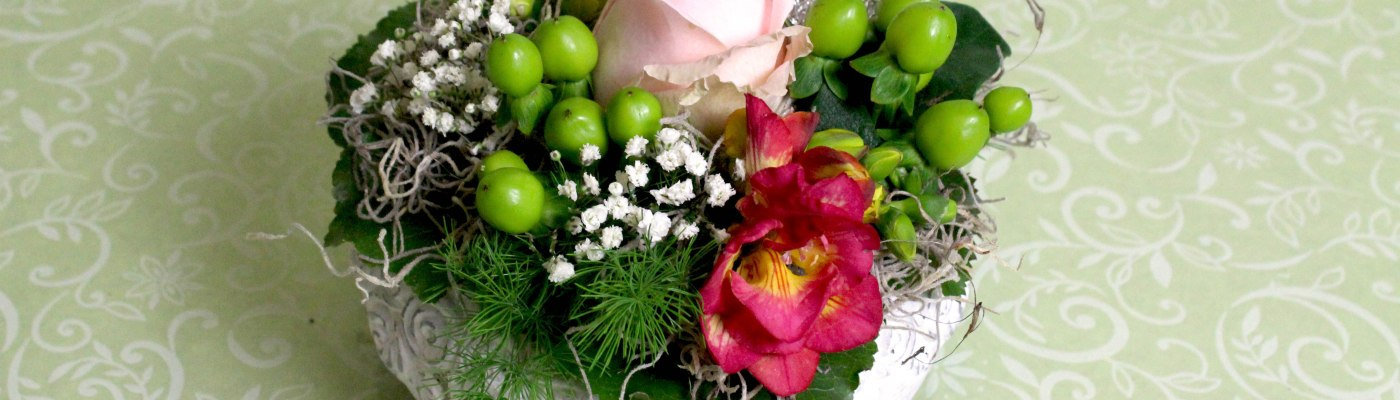 Blumen bequem per Formular bestellen