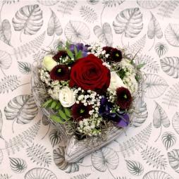 Blumengesteck 'Herzl'