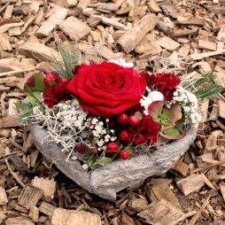2. Blumengesteck 'Herzli'