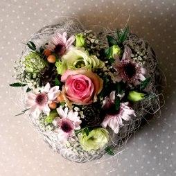 1. Blumengesteck 'Herzli'
